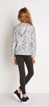 Cowl Neck Sweatshirt Outfit