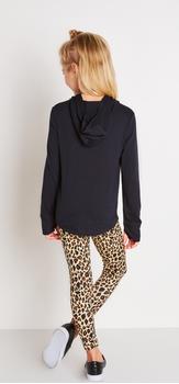 Love Hoodie Cheetah Outfit