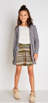 Tribal Skirt Outfit