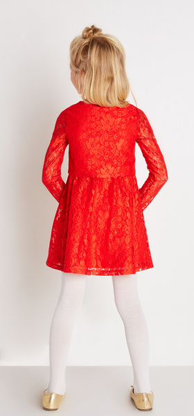 The Red Lace Dress Outfit