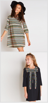 Boho Tribal Dress Pack