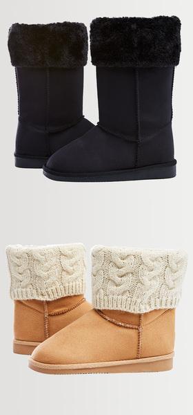 Foldover Fuzzies Shoe Pack
