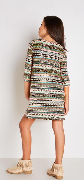 Boho Tribal Dress Outfit