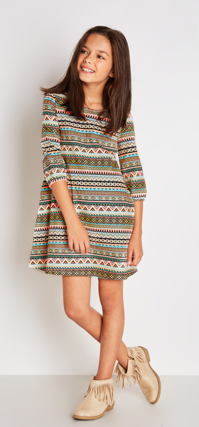 Boho Tribal Dress Outfit