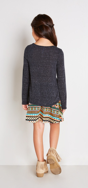 The Tribal Skirt Outfit