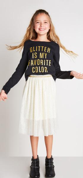 Glitter Tutu Outfit