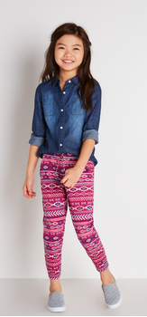 Chambray Jogger Outfit