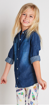 Feather Chambray Outfit