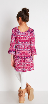 The Bell Sleeve Dress Outfit