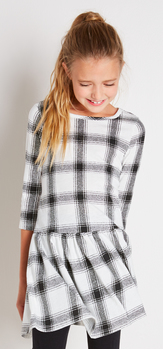 The White Plaid Dress Outfit