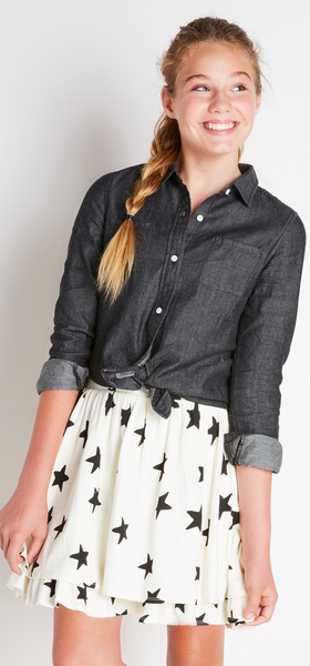The Chambray Star Outfit
