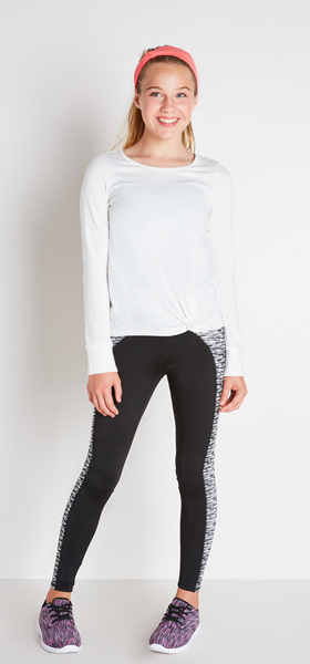 Space Dye Active Outfit
