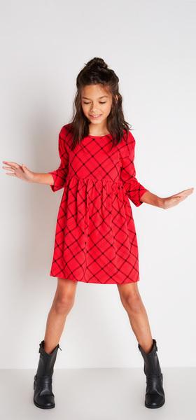 Plaid Dress Outfit