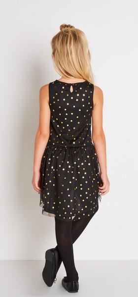 Gold Dot Tutu Dress Outfit
