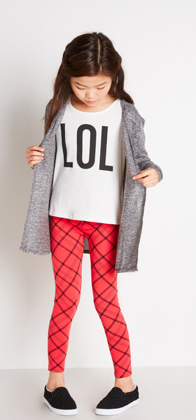 Lol Plaid Outfit
