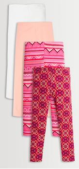 Pink Boho Legging Pack