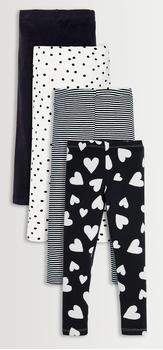 Black & White Legging Pack