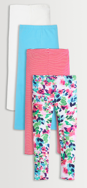 Floral & Stripe Legging Pack