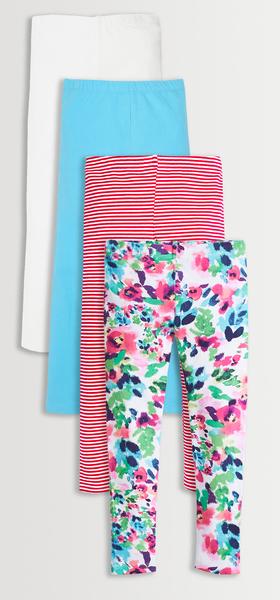 Floral & Stripe Legging Pack
