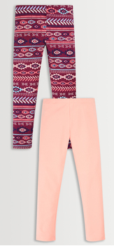 Tribal & Solid Legging Pack