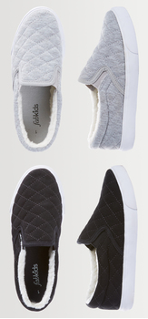 Quilted Slip On Shoe Pack