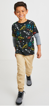 Space Woven Jogger Outfit