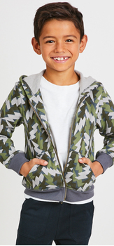 Camo Hoodie Outfit
