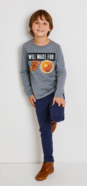 Will Wake For Breakfast Outfit