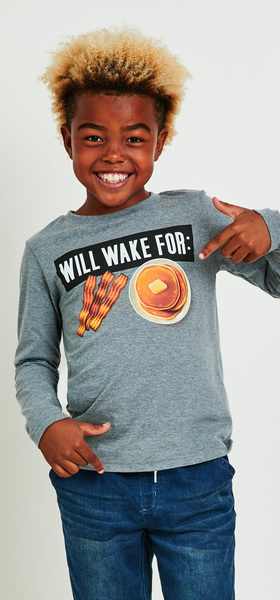 Will Wake For Breakfast Denim Outfit