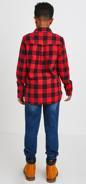 Buffalo Check Flannel Outfit