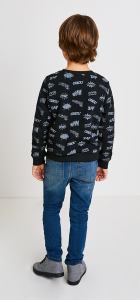 Comic Sweatshirt Jogger Outfit