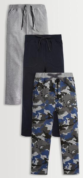 Camo Harem Pants 3-Pack
