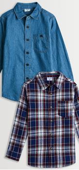 Chambray & Plaid Shirt Pack
