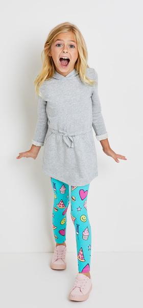 cccc976f79 Sweatshirt Dress Emoji Outfit - FabKids