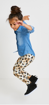 Chambray Leopard Outfit