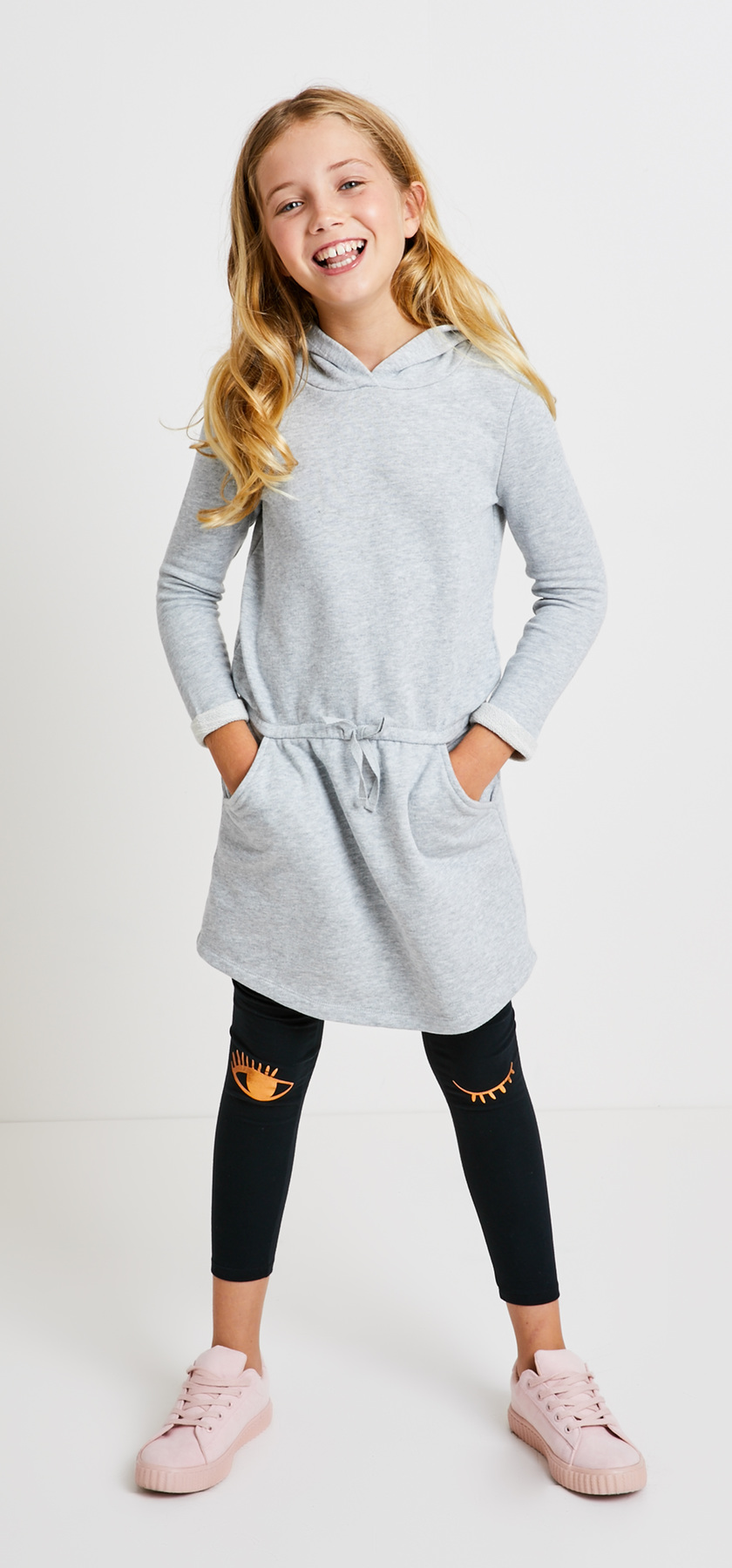 f00453dd67 Sweatshirt Dress Wink Graphic Outfit - FabKids