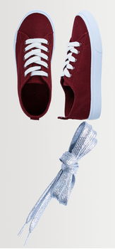 Canvas Lace Up Shoelace Pack