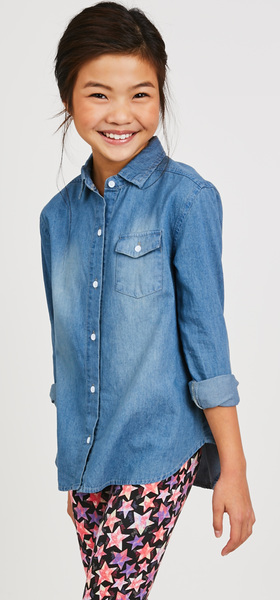Chambray Star Print Outfit