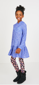 Hooded Dress Star Print Outfit