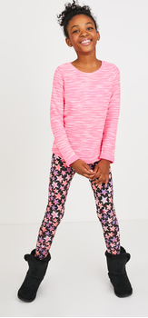 The Cozy Star Print Outfit
