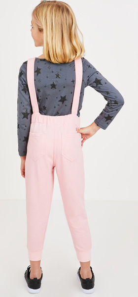 The Glitter Star Overalls Outfit