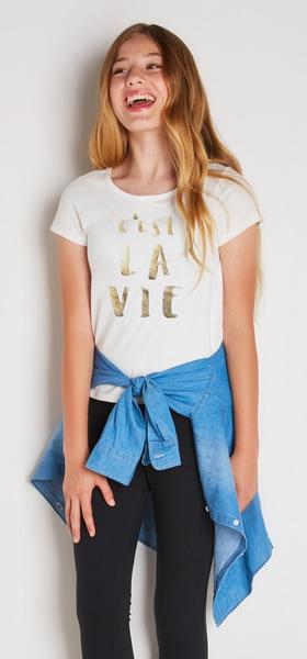 a4be272c63f Chambray C'Est La Vie Outfit - FabKids