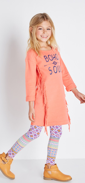 eaad675fff Boho Soul Sweatshirt Dress Outfit - FabKids
