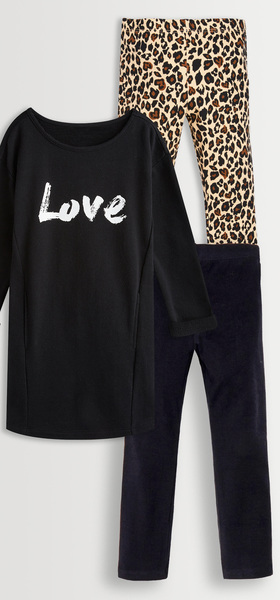 53a6df1819 Love Sweatshirt Dress Box - FabKids