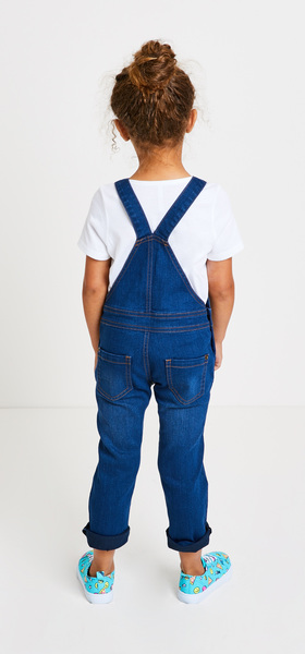 Basic Tee Overall Outfit