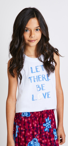 Let There Be Love Skirt Outfit