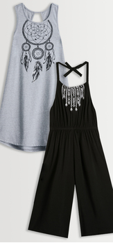 Halter Romper + Dreamcatcher Dress Pack