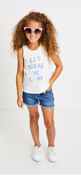 The Let There Be Love Short Outfit