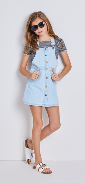 6e7d91e65690 The Denim Skirtall Outfit - FabKids