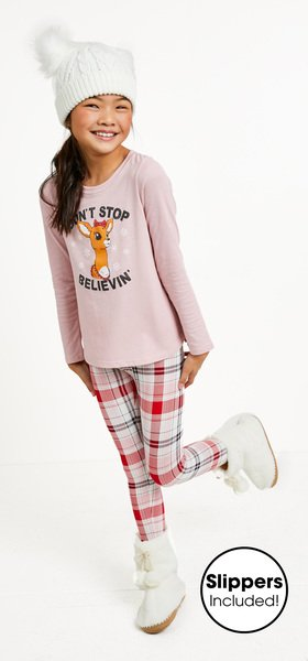 Don't Stop Believin' Plaid Outfit